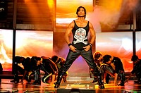 Bollywood actor shahid kapoor performing , India NO MR 2009