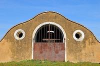 Pigsty Valencia del Mombuey Badajoz province Extremadura Spain