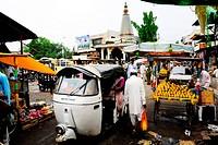 Market , Akluj , Solapur , Maharashtra , India