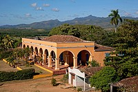 The Hacienda Ingenios at the Manaca Ignaza sugar cane plantation in the Valle de los Ingenios / Valley de los Ingenios / Valley of the Sugar Mills nea...