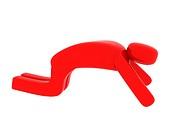 Red man praying _ Social Themes