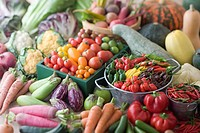 Assorted Multicolored Vegetable