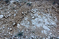 Texture of rocks, stones compacted