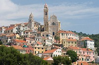 old town of Cervo, Riviera, Italy