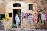 Morocco, Africa. El Jadida, old portuguese city.