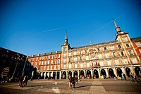 Plaza Mayor of Madrid Spain, Europe