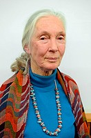 Jane Goodall, British primatologist, anthropologist, ethologist and UN Messenger of Peace, considered to be the world´s foremost expert on chimpanzees
