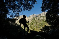 Puig De Sa Cova Carboner, 842 meters, Tramuntana, mallorca, Balearic Islands, Spain, Europe