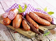 Morteau and Montb&#233;liard sausages