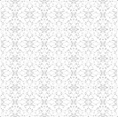 Seamless Dots and Floral Pattern
