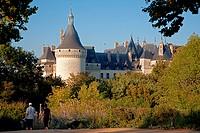 THE GARDENS AND THE CHATEAU DE CHAUMONT_SUR_LOIRE, LOIR_ET_CHER 41, FRANCE