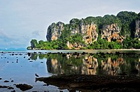 Asia, Thailand, View of Railay Beach