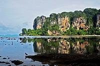Asia, Thailand, View of Railay Beach