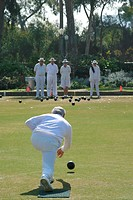 Lawn Bowling, Balboa Park, San Diego, California SD