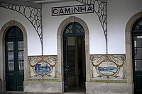 Caminha railway station, Portugal