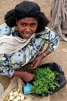 Lalibela weekly market, Ethiopia.