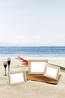 Frame in the Beach