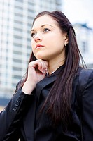 Young Business Woman With Grand Business Ideas