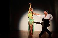 Couple Dancing, Tango Dance