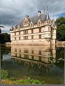 Château d´Azay_le_Rideau, Loire Valley, France