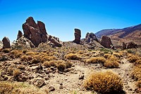 Roques de Garcia. Teide National Park. Tenerife. Canary Islands. Spain.