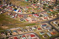 Aerial View from Cape Town