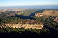 Landscape of Wild Coast, Mbotyi, Eastern Cap, South Africa
