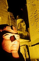Luxor temple  Luxor  Egypt