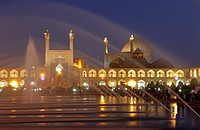 Imam mosque also called Shah mosque in Naqsh-e Jahan Square, Esfahan, Iran