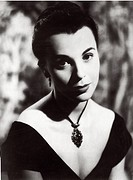 British actress Claire Bloom (Patricia Claire Blume) acting in Innocents in Paris. 1953. Innocents in Paris, 1953, directed by Gordon Parry, United Ki...