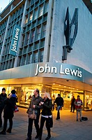 John Lewis department store on Oxford Street, London UK
