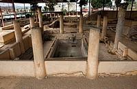 Peristyle of Mithraeum house, Merida, Spain
