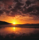 Oberon Bay at sunset, Wilsons Promontory National Park, Victoria, Australia