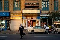 street in tehran teheran iran