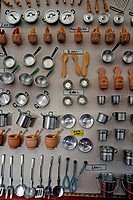 miniatures, cooking tools.