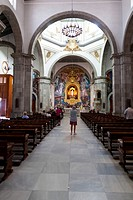 The Basilica de Candelaria where the Black Virgin of Candelaria is kept, Tenerife, Canary Islands, Spain