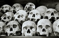 Khmer Rouge - Killing Field of Choeung EK in Phnom Penh in Cambodia