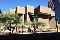Phoenix Symphony Hall in Downtown Phoenix  Arizona  USA