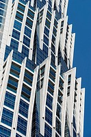 New JW Marriott Marquis hotel, the tallest hotel in the world, official opening February 2013 in Business Bay district Dubai UAE