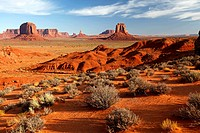 United States, Utah, Monument valley, navajo reservation