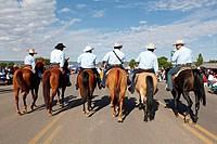 United States, Arizona, Window rock, annual fair, rodeo