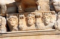Turkey, province of Antalya, Turkish riviera, Side, temple of Apollo