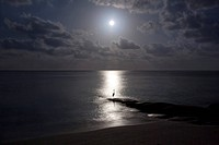 Moonligth at the Sea (Maledives)