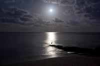 Moonligth at the Sea (Maledives)