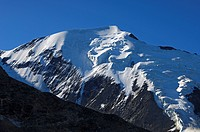 Northwest face of the Aiguille de Bionnassay