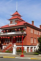Chinese Temple in Victoria Canada