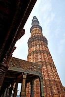 Qutub Minar also known as Qutb Minar and Qutab Minar, is the tallest minaret in India, originally an ancient Islamic Monument, inscribed with arabic i...