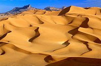 Desert, Morning Light, Dunes of Titersine, Mt Indinan