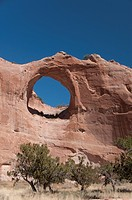 Window Rock Navajo Tribal Park, Arizona, United States of America, North America