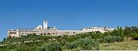 Umbria sights, assisi panorama